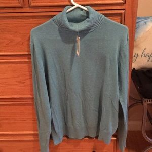 Sonoma Sweater Turtleneck Color Light Aqua